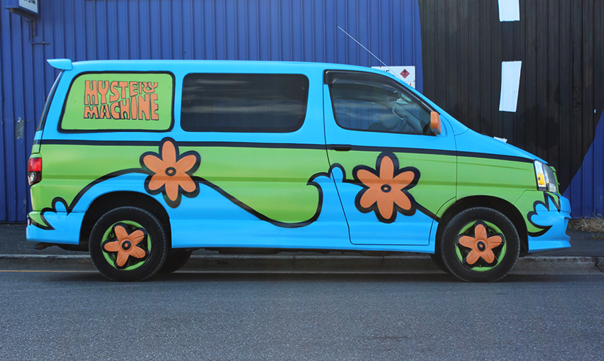 Campervan Village Mystery Machine 3